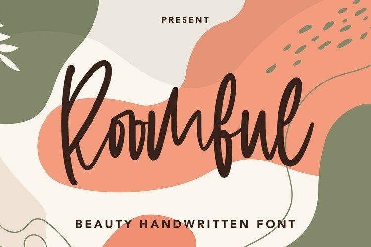 Web Font Roomful - Beauty handwritten Font example image 1