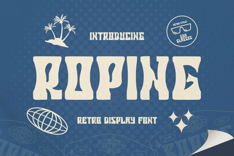 Web Font ROPING Font example image 1