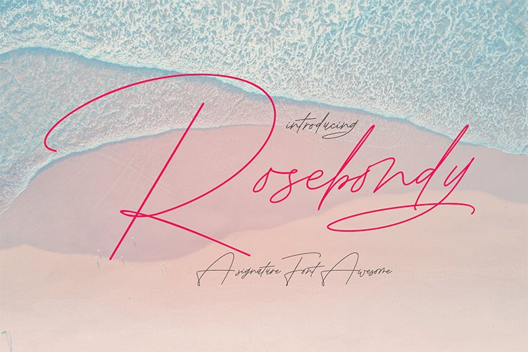Rosebondy Signature example image 1