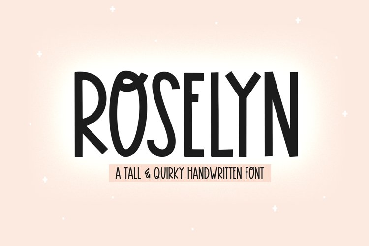 Roselyn - A Fun Handwritten Font example image 1