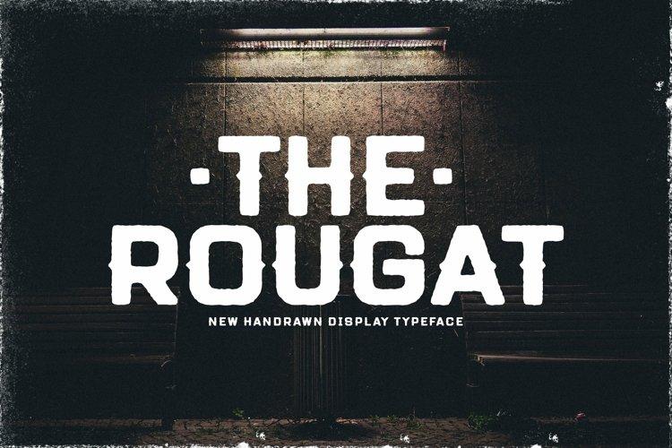 Web Font Rougat example image 1
