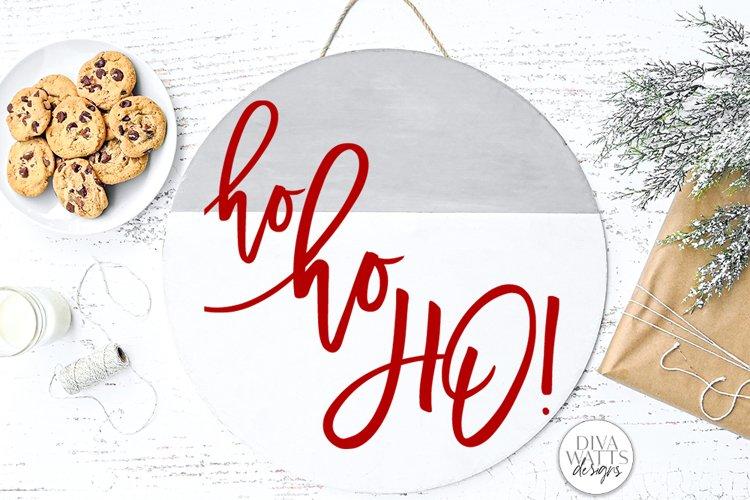Ho Ho Ho! SVG   Christmas / Winter Design example image 1