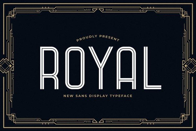 Web Font Royal example image 1