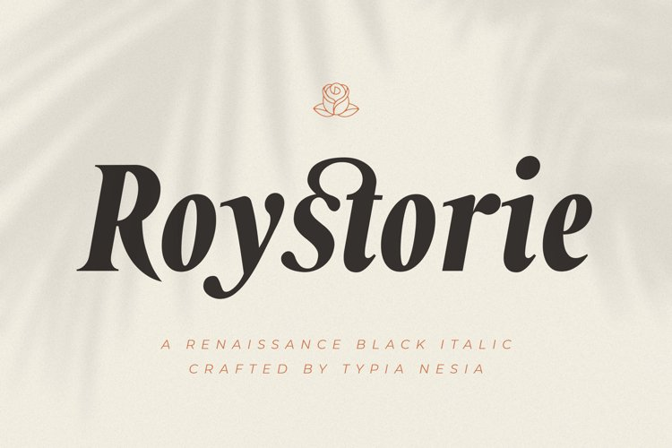 Roystorie Italic