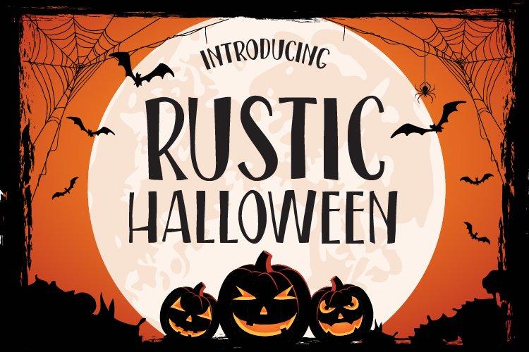 Rustic Halloween example image 1