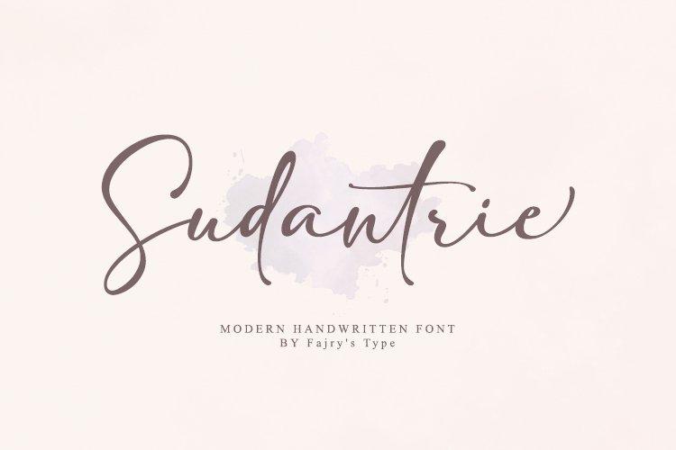 Sudantrie