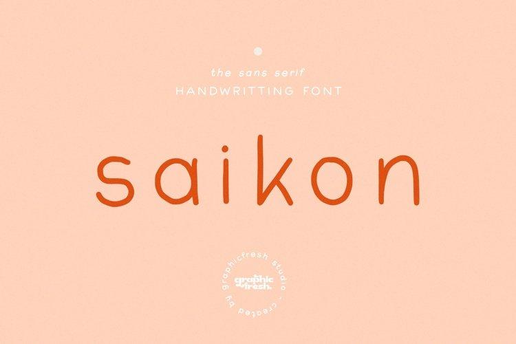 Saikon - Free 6 Logo Templates example image 1