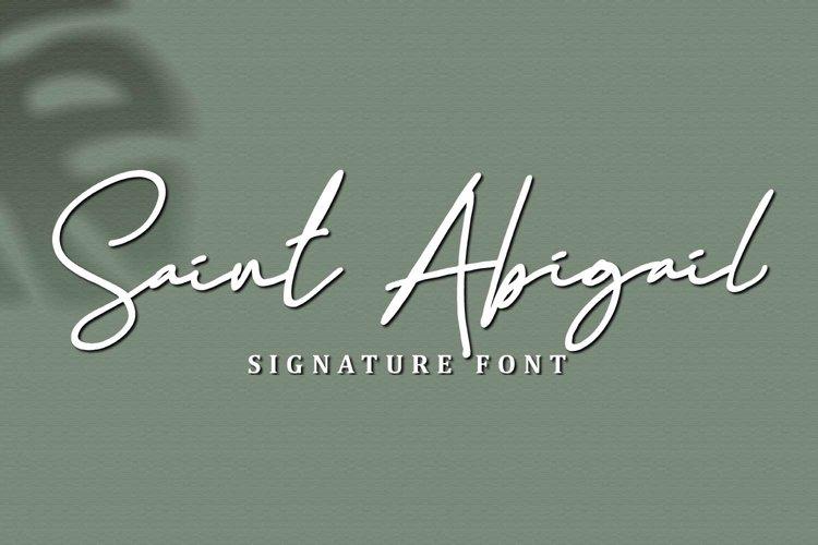Saint Abigail example image 1