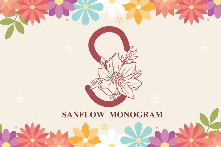 Sanflow Monogram example image 1