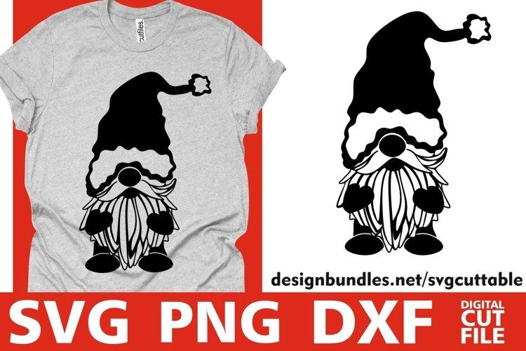 Santa Gnome svg, Christmas svg, Gnome svg, Santa Claus svg example image 1