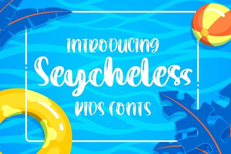 Web Font Saycheless - Kids Font example image 1