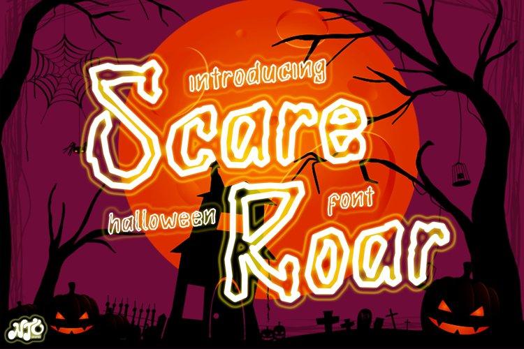 Scare Roar - Halloween Horror Font example image 1