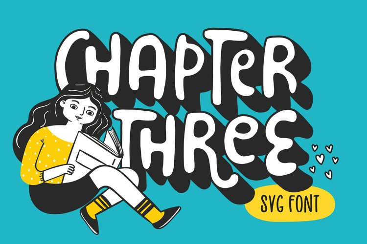Chapter Three Font example image 1