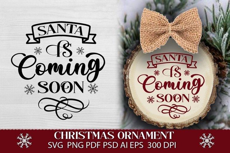 Christmas SVG. Christmas ornament SVG. Merry Christmas.