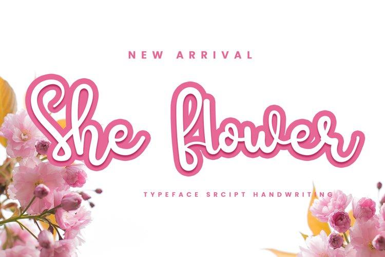She Flower example image 1