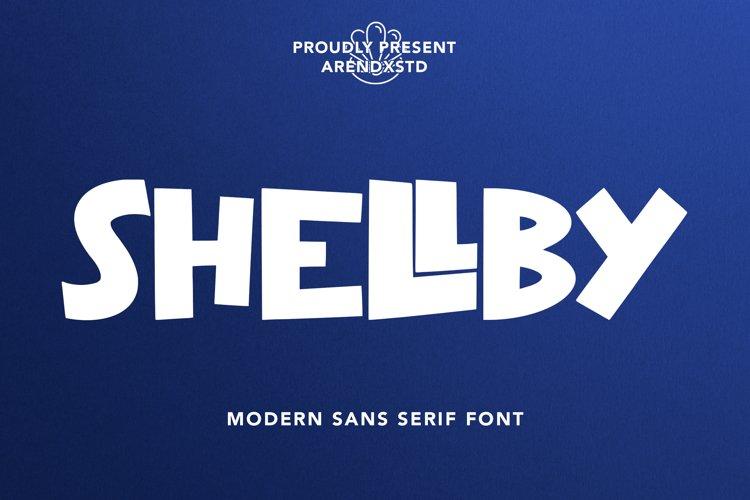 Shellby - Modern Sans Serif Font example image 1