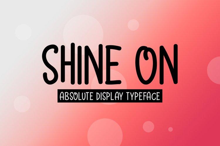 Shine On example image 1