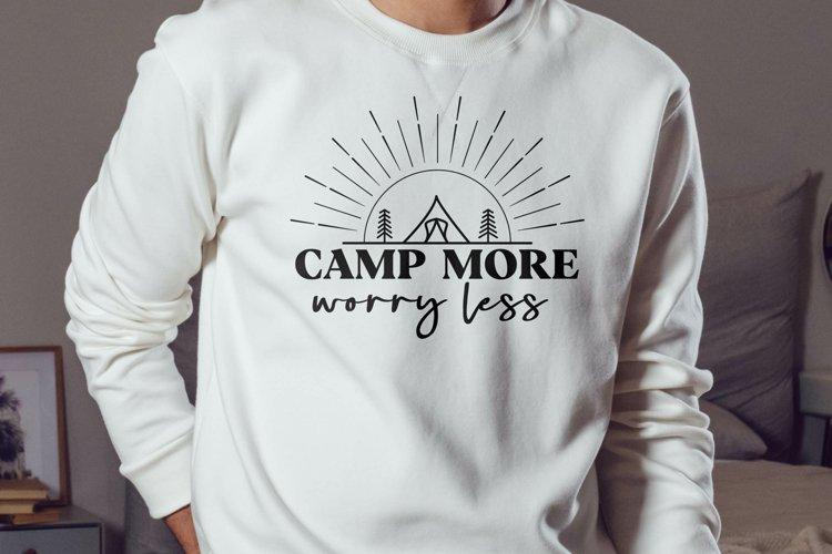 Camp more SVG, Camping svg, Adventure svg, Travel svg