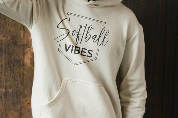 Softball Vibes SVG, Baseball svg, Softball mom svg, Softball