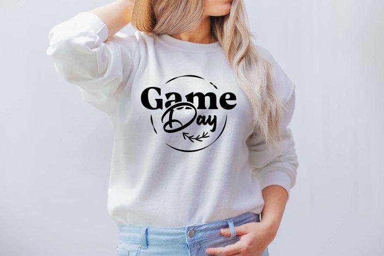Game day SVG, Baseball svg, Baseball mom svg, Baseball life