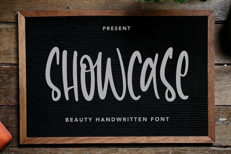 Web Font Showcase - Beauty Handwritten Font example image 1