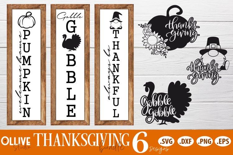 Thanksgiving Bundle Signs SVG   Thanksgiving SVG example image 1