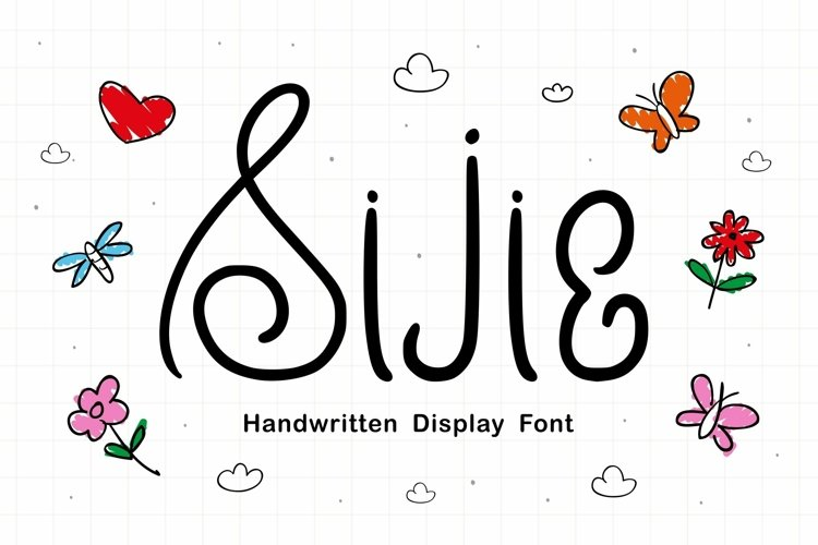 Web Font Sijie Font example image 1
