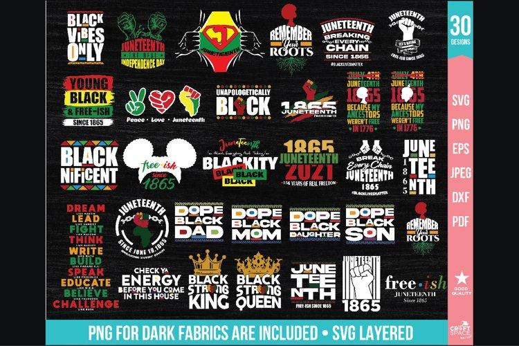 Juneteenth 1865 Pack svg Black Lives Matter, pdf, dxf, jpeg