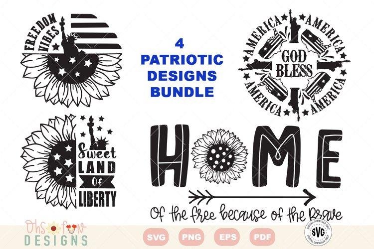 SVG Patriotic America bundle | Sunflower | mandala SVG