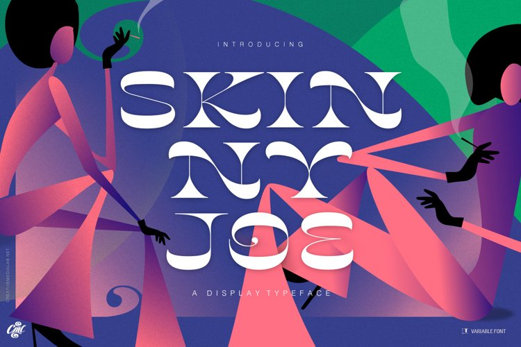 Skinny Joe Font example image 1