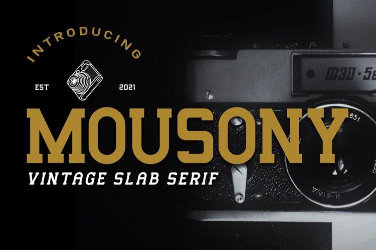 Mousony example image 1
