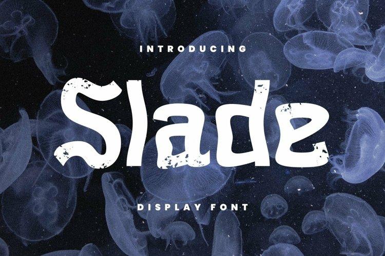Web Font Slade Font example image 1