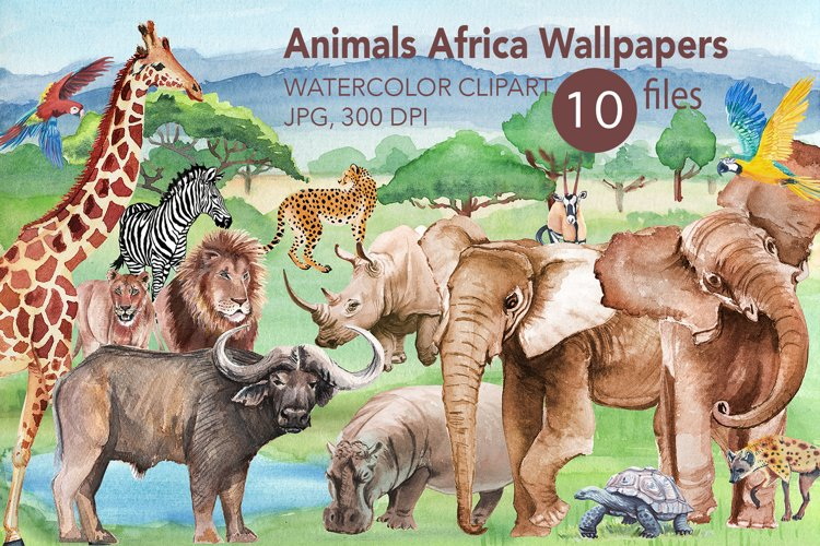 Animals Africa Wallpaper.