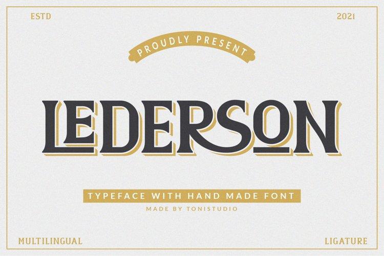 LEDERSON example image 1