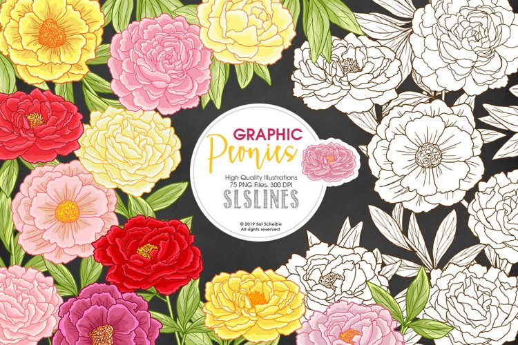 Pretty Peonies in Pink & Yellow