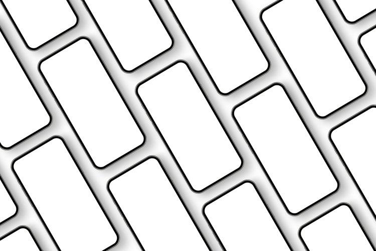 Smartphones Mockups for App Design Presentation