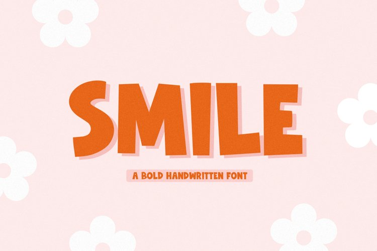 Smile - Handwritten Font with Extras