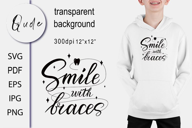 Saying SVG. Quote Tooth SVG Cut file. Children Sublimation
