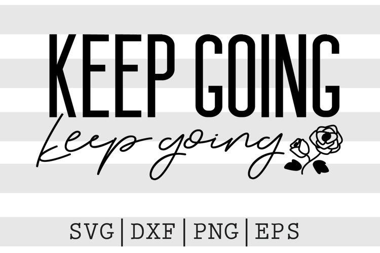 Keep going keep going SVG