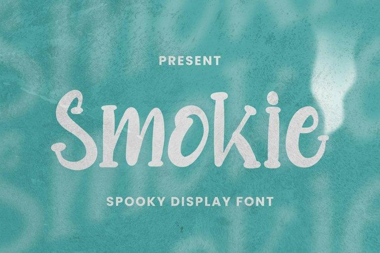 Web Font Smokie Font example image 1