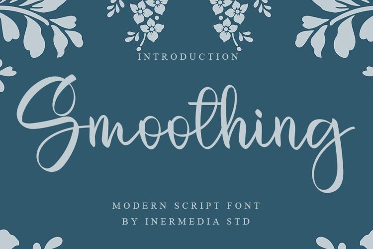 Smoothing - Modern Script Font example image 1
