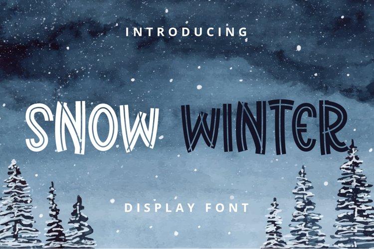Snow Winter example image 1