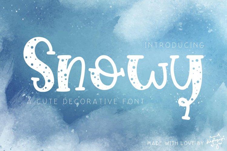 Snowy example image 1