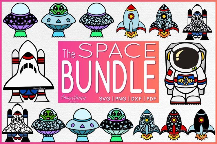 SPACE BUNDLE SVG 15 Mandala / Zentangle Designs