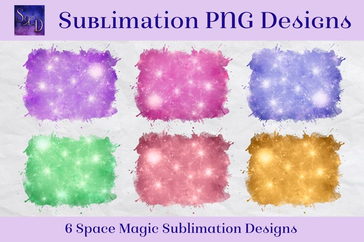 Sublimation PNG Designs - Space Magic example image 1