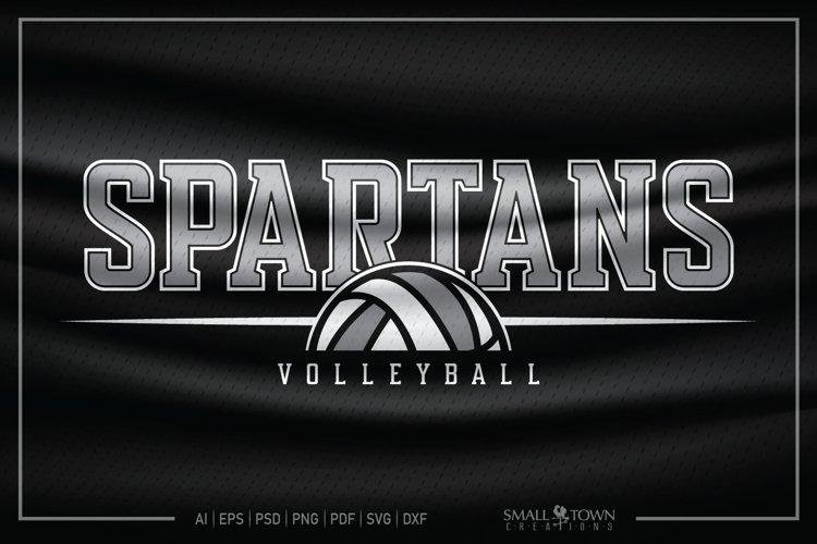 Spartan, Spartan Volleyball, Spartan SVG, Volleyball SVG