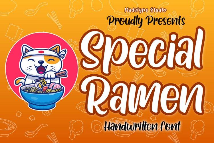 Special Ramen example image 1