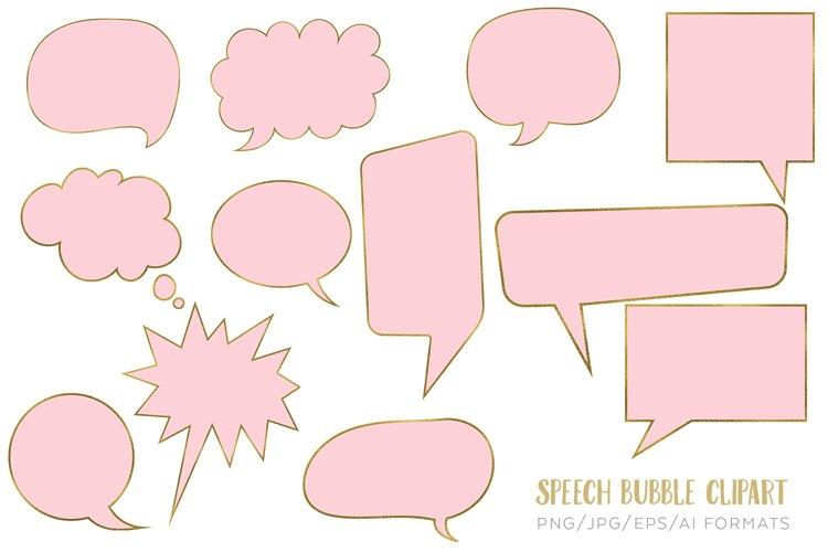 Speech Bubble vector clipart