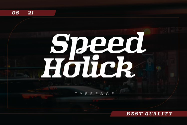 Speed Holick example image 1