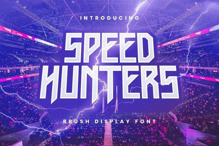 Web Font Speedhunters example image 1